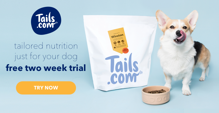 tails.com free dog food trial