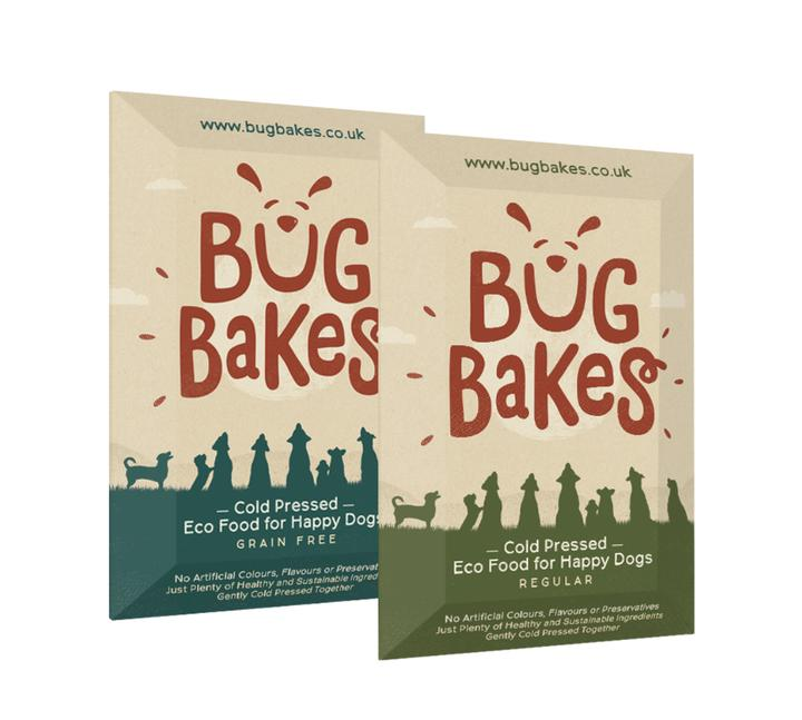 Bug Bakes sample dog food packs