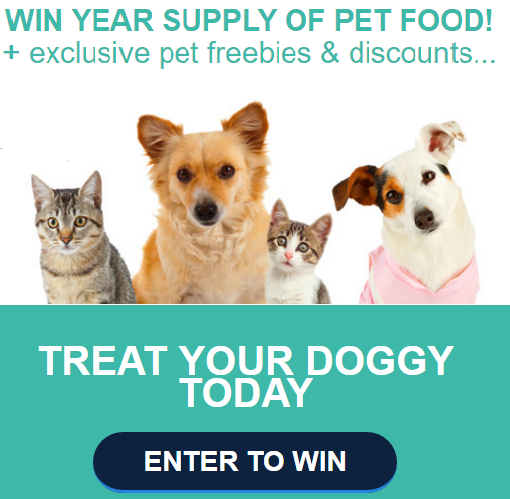 Win Free Dog Food Supply
