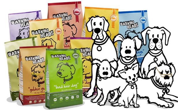 Barking Heads free dog and cat food sample