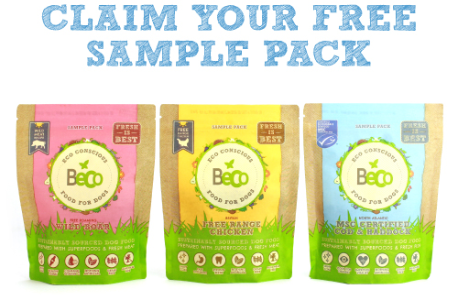 Beco Pets Dog Food Free Sample Pack
