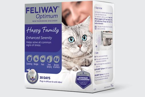 Free supply Feliway cat products