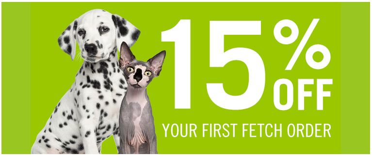 15% off Fetch discount voucher