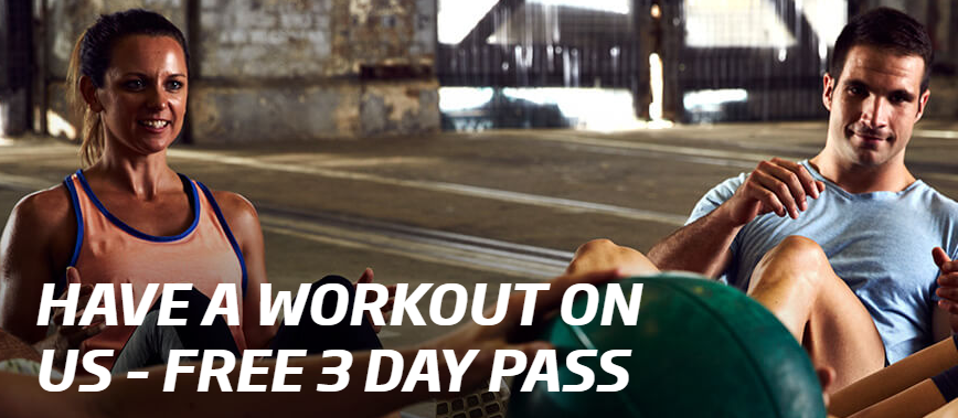 Fitness First free 3 Day Pass