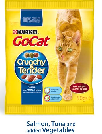 Go-Cat Crunchy & Tender free sample pack