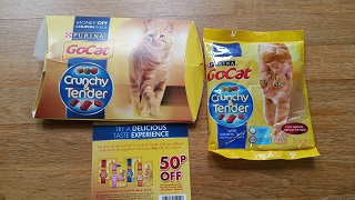GoCat Crunchy & Tender free sample packs