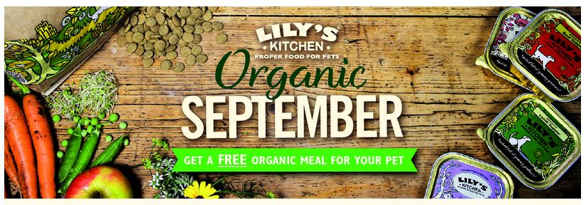 Free Lilys Kitchen organic dog or cat food meal