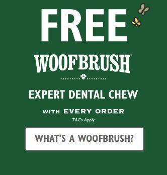 Lilys Kitchen Free Woof Brush Deal