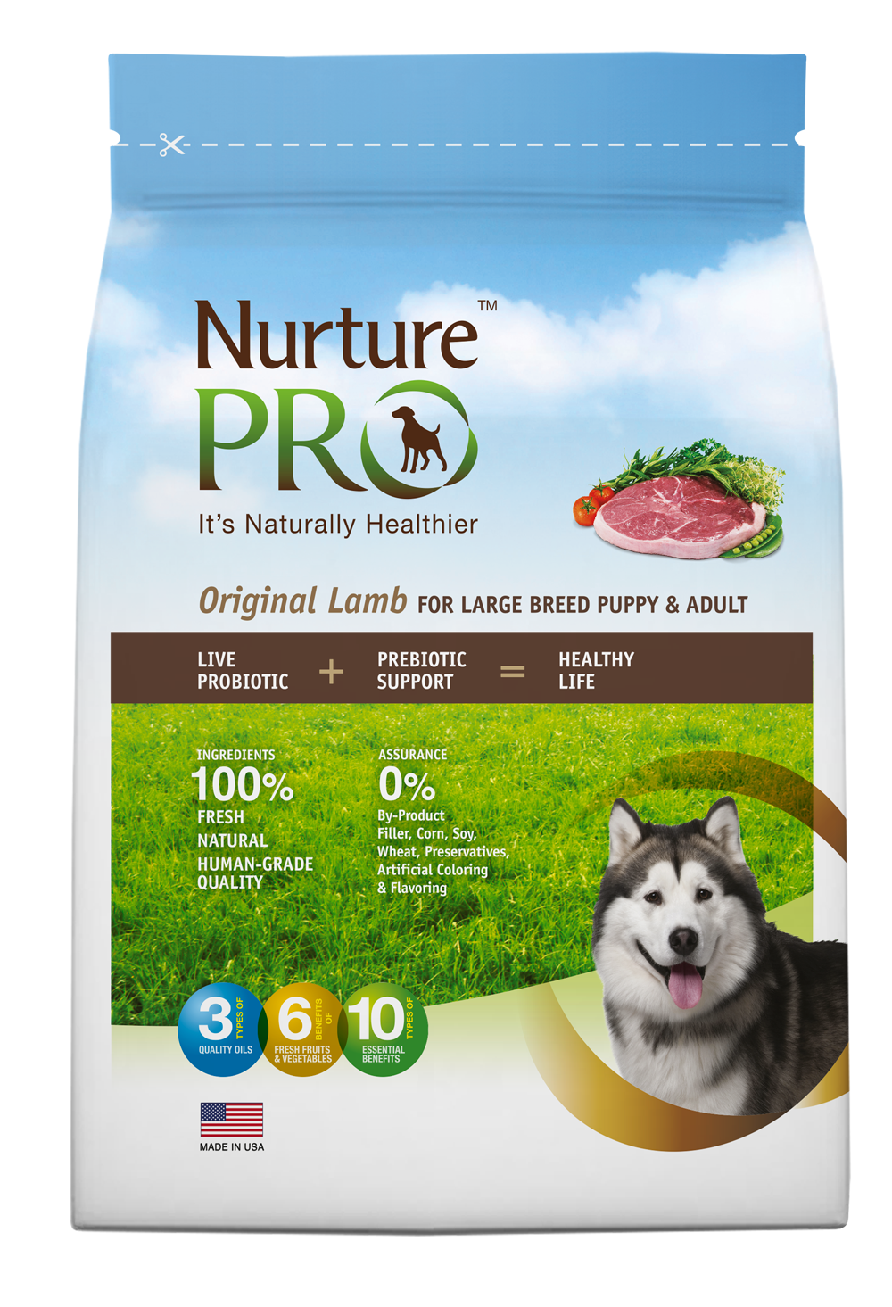 Free Nurture Pro Dog and Cat food sample
