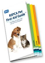 RSPCA free pet first aid guide