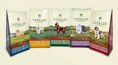 Free Vitalin Puppy Starter Pack food sample